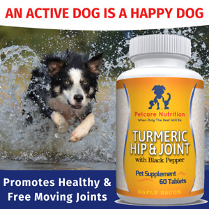 Dog Joint Supplement With Turmeric - Better Than The Leading Brand - Best Seller