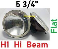 """1pr 5 3/4"""" Semi Sealed Inner Flat Headlights Chrysler Valiant Dodge Challenger"""