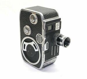 BOLEX C8 8mm Filmkamera mit Kern-Paillard Yvar 2.5/12.5mm AR