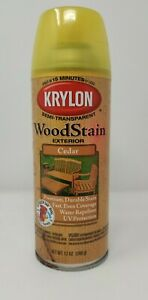 Krylon K03601000 Exterior Semi-Transparent Wood Stain CEDAR 12 Ounce