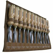 Professional 12PC Wood Carving Chisel Set Tools