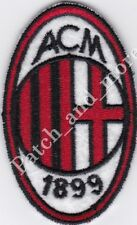 [Patch] A.C. MILAN replica club football scudetto cm 4,5 x 7 toppa ricamo -1003