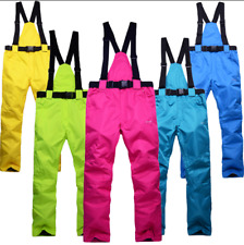 New Men Women Warm Waterproof Snow Pants Winter Sports Ski Snowboard Snow Pants