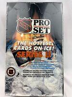 1990-91 NHL Pro Set Hockey Series 2 Factory SEALED Box-36 Wax Packs