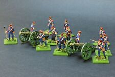 1/72 scale HaT FRENCH LINE ARTILLERY Napoleonic Very nicely PAINTED