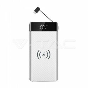 POWER BANK MEGA 20000MHA CON CARICAMENTO WIRELESS 2 USB