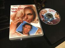 SIETE DIAS Y UNA VIDA DVD LIFE OR SOMETHING LIKE IT ANGELINE JOLIE EDWARD BURNS
