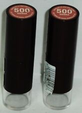 2 Maybelline Mineral Power Lipstick SIENNA #500 Full Size Sticks