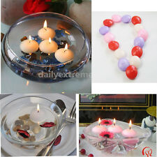 50 Round Floating Candle Disc Floater Candles Wedding Party Home Decor Unscented
