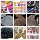 1box Nail Art Glitter Powder Dust For UV GEL Acrylic Powder Decoration Tips Pink