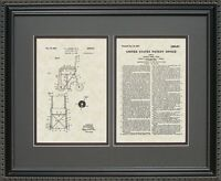 Patent Art - Wheelchair - Doctor Nurse Medical Print Gift E5411