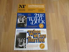 The Wild Duck & When we are Married Original NATIONAL Theatre NT Poster