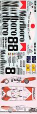 1/12 MARLBOLO PORSCHE 956 LE MANS 1983 FULL SPONSOR DECAL for MFH MODEL FACTORY