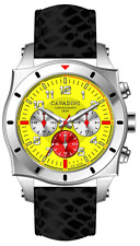 LUXURY DESIGNER CHRONOGRAPH WATCH TIMOR FROM HOME THE CAVADINI IN YELLOW MODEL