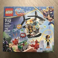 LEGO 41234 DC Super Hero Girls Bumblebee Helicopter New Sealed