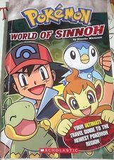 Pokemon World Of Sinnoh by Simcha Whitehill - Travel Guide, Pb Book