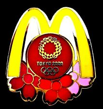 New ListingBeautiful Mcdonalds Tokyo 2020 2021 Olympic Games Collector Pin Japanese Japan