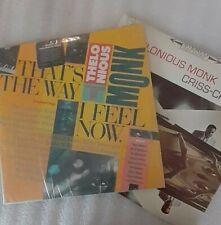 "New listing T.Monk vinyl,""Thats the Way I Feel Now"",2 lp's. ""Criss Cross"""