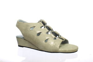 David Tate Womens Rich Antique Antique Natural Sandals Size 12
