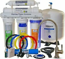iSpring RCC7 5-Stage Under-Sink Reverse Osmosis Drinking Water Filtration System