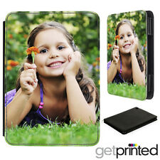 Personalised iPad Air 1 PU Leather Flip Case Cover Custom Photo Print Gift
