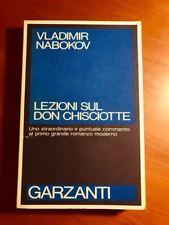 Lezioni sul Don Chischotte - Nabokov - Ed. Garzanti