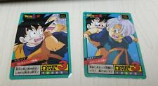 DRAGON BALL Z SUPER BATTLE POWER #405 416 PRISM UNPEELED JAPAN DBZ CARD