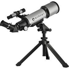 Barska AE10100 300 Power Starwatcher Reflector Silver Astronomy Telescope