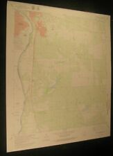 Laredo South Texas Rio Grande 1980 vintage USGS original Topo chart map