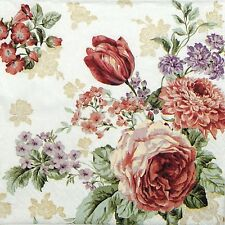 4x Paper Napkins -Mysterious Rose - for Party, Decoupage