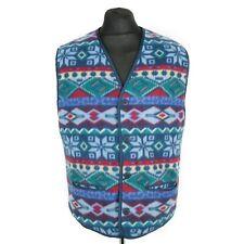 Vintage JOHN BANER Quilted Fleece Waistcoat | Gilet Vest Jacket Sleeveless