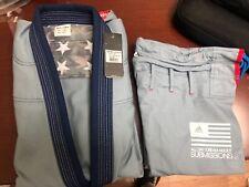 adidas Stars & Stripes Jiu Jitsu Gi Bjj Gi A2.5 Gray