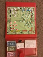 POCKET OR TRAVEL MONOPOLY BOARD GAME - PART GAME CONTENTS/PIECES ONLY FOR SPARES