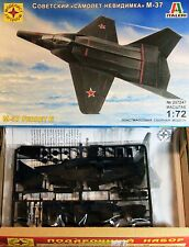 1/72 Soviet aircraft Stealth M-37 Ferret E Model Kit ITALERI 207247 *gift set*