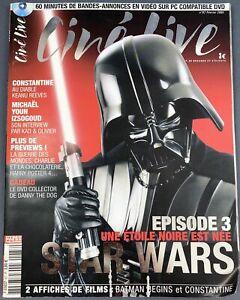 """Ciné Live n°87 (Février 2005) - Star Wars Episode 3 """"Une Etoile Noire est née"""""""
