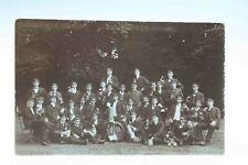 AK Foto-Postkarte Burschenschaft Studentika Poststempel Osterwieck gelaufen 1907