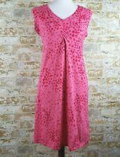 Womens Columbia sportswear dress pink sleeveless v-neck M stretch