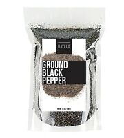 Hayllo Superfoods Premium Pure Fine Ground Black Pepper, 12 Ounce
