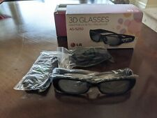 LG Genuine AG-S250 3D Rechargeable Glasses OEM boxed