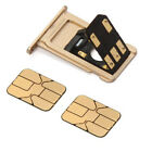 Double Dual SIM Card Adapter for iPhone 7, 7Plus, X Extender