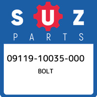 09119-10035-000 Suzuki Bolt 0911910035000, New Genuine OEM Part
