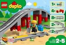 Lego Duplo Ponte Ferroviario e Binari #10872