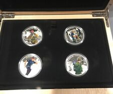 2016 $15 Canada Fine Silver Four Coin National Heroes