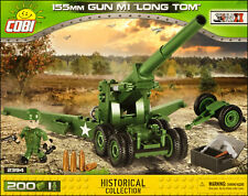 COBI M1 155 mm Long Tom (2394) - 200 elem. - WWII US/Allied field artillery gun