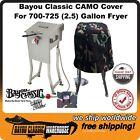 Bayou Classic 700-725 2.5 Gallon CAMO Full Length Deep Fryer Cover Made in USA
