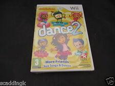 Nintendo Wii Game Nickelodeon Dance 2 Brand New Sealed