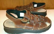 Sonoma Kingston Brown Leather Men's Size 10 Closed Toe Sandals