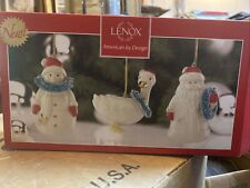 New Lenox Very Berry Merry Set Of 3 Ornaments