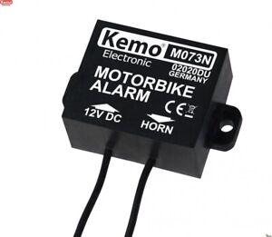 Motorrad Roller Scooter Alarm Neigungssensor Neigungswinkelschalter Kemo M073N