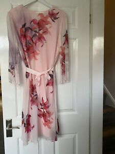 Fenn Wright Manson Petite Amaryllis Dress, Pink UK Size 18